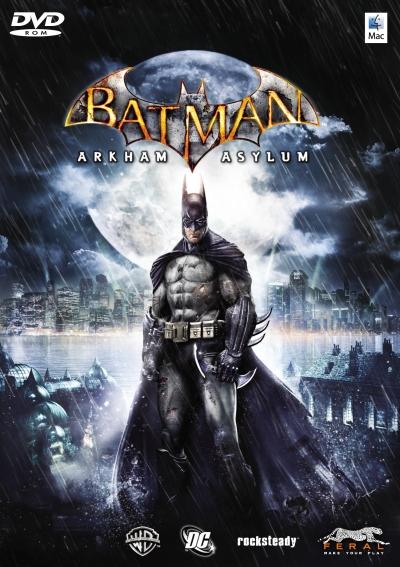Obal hry Batman: Arkham Asylum