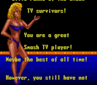 Screen ze hry Smash TV