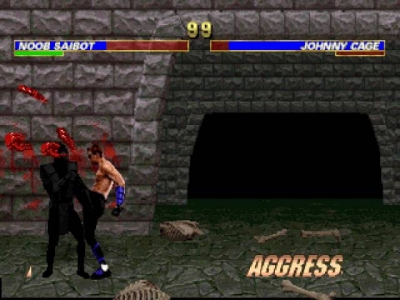 Screen ze hry Mortal Kombat Trilogy