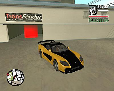 Screen ze hry Grand Theft Auto: San Andreas