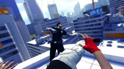 Screen ze hry Mirror´s Edge
