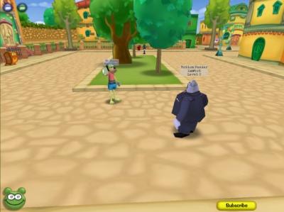 Screen ze hry Toontown Online