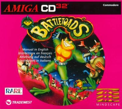 Obal hry Battletoads