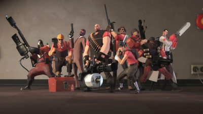 Artwork ke hře Team Fortress 2