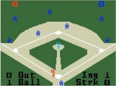 Screen ze hry Major League Baseball