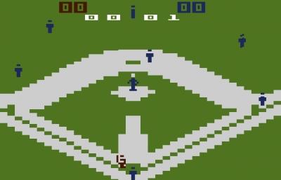 Screen ze hry Major League Baseball