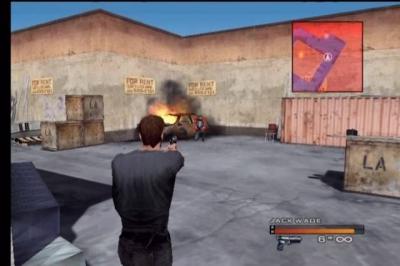 Screen ze hry Headhunter