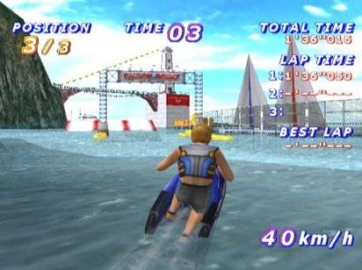 Screen ze hry Surf Rocket Racers