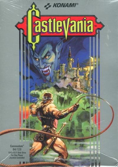 Obal hry Castlevania