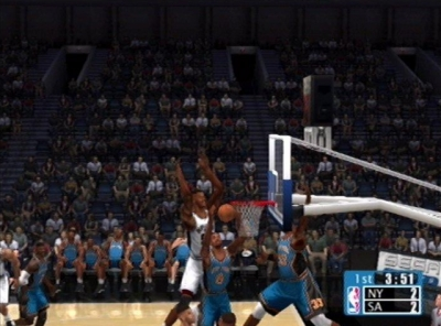 Screen ze hry NBA 2K