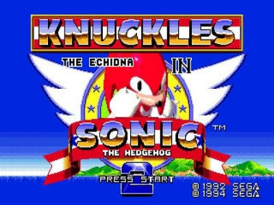 Screen ze hry Sonic the Hedgehog 2 & Knuckles