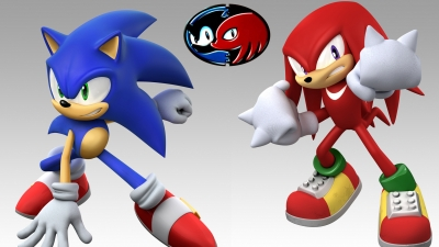 Artwork ke hře Sonic the Hedgehog 2 & Knuckles