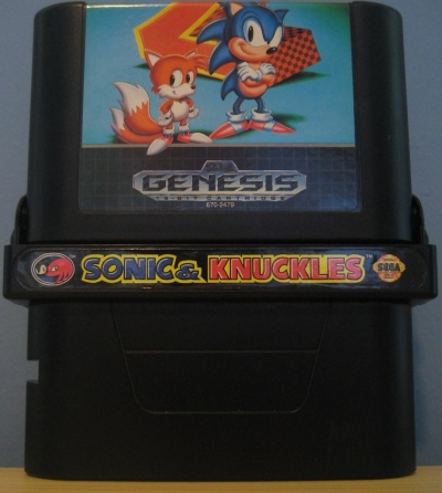 Obal hry Sonic the Hedgehog 2 & Knuckles