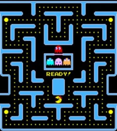 Screen ze hry Ms. Pac-Man