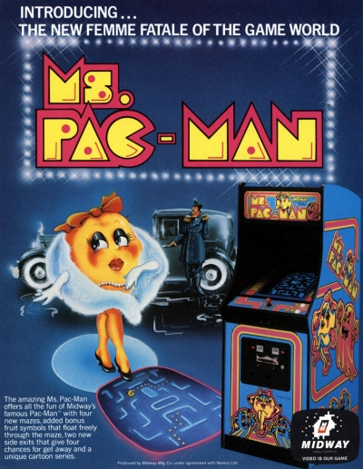 Obal hry Ms. Pac-Man