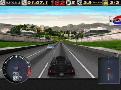Screen ze hry Road & Track Presents: The Need for Speed