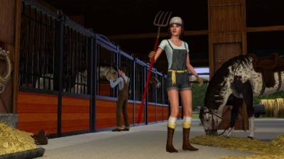 Screen ze hry The Sims 3: Pets