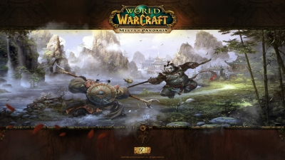 Artwork ke hře World of Warcraft: Mists of Pandaria