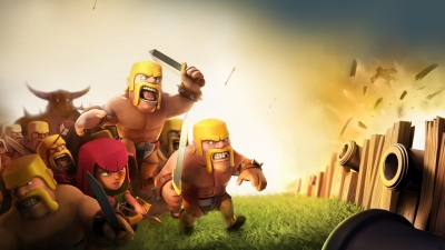Artwork ke hře Clash of Clans