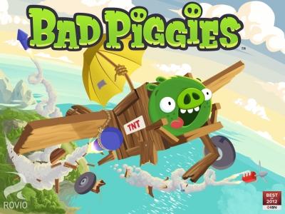 Obal hry Bad Piggies