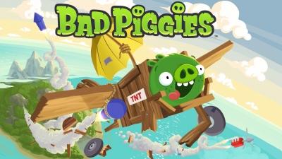 Artwork ke hře Bad Piggies