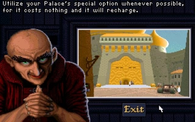 Screen ze hry Dune II: The Building of a Dynasty