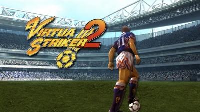 Artwork ke hře Virtua Striker 2