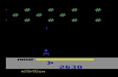 Screen ze hry Megamania