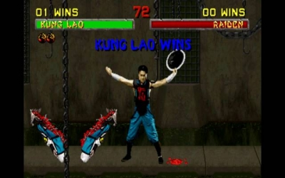 Screen ze hry Mortal Kombat II