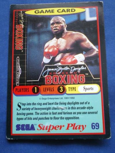 Artwork ke hře James ´Buster´ Douglas Knockout Boxing