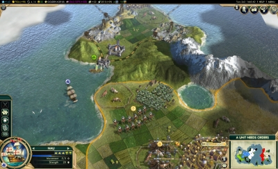 Screen ze hry Civilization V: Brave New World