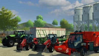 Screen ze hry Farming Simulator 2013