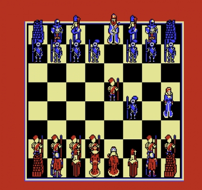 Screen ze hry Battle Chess