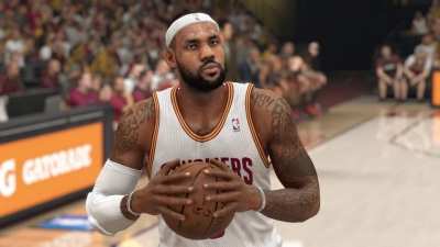 Screen ze hry NBA 2K15