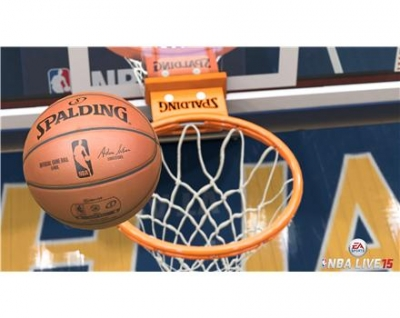 Screen ze hry NBA Live 15