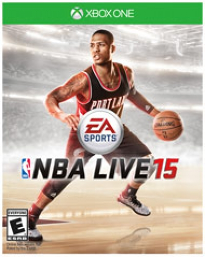 Obal hry NBA Live 15