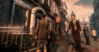 Screen ze hry Sherlock Holmes: Crimes and Punishments