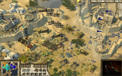 Screen ze hry Stronghold Crusader 2