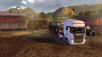 Screen ze hry Trucks and Trailers