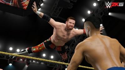 Artwork ke hře WWE 2K15
