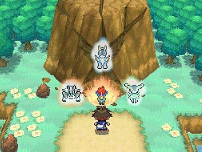 Screen ze hry Pokemon Black 2
