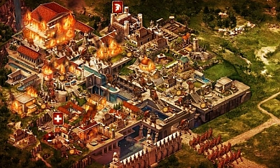 Screen ze hry Game of War