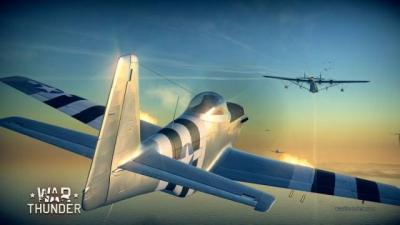 Screen ze hry War Thunder