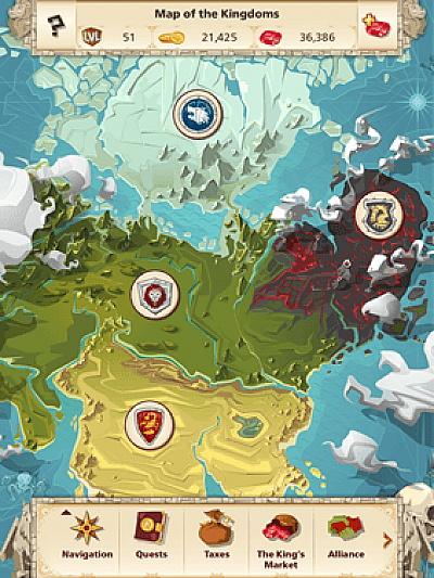 Screen ze hry Empire: Four Kingdoms