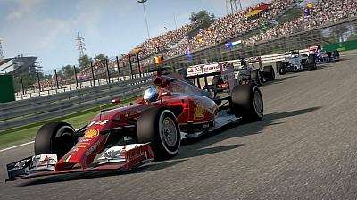 Screen ze hry F1 2014