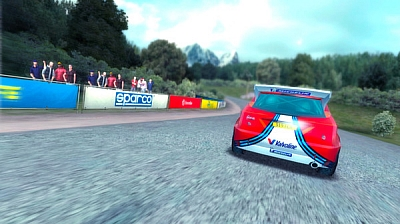 Screen ze hry Colin McRae Rally Remastered