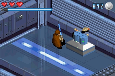 Screen ze hry LEGO Star Wars: The Video Game