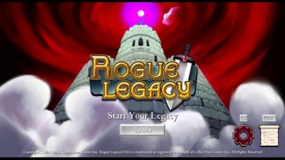 Screen ze hry Rogue Legacy