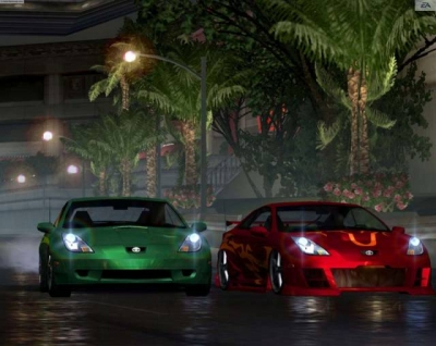 Screen ze hry Need for Speed Underground