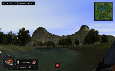 Screen ze hry Woodcutter Simulator 2013
